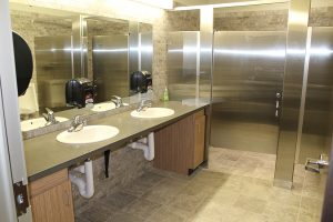 Bathroom plumbing by Mathew's Plumbing