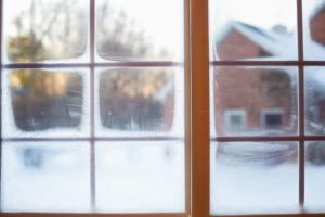 Insulate windows to save money on heating costs in the winter